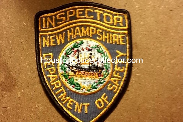 New Hampshire Wanted Patches