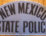 WISH,NM,NEW MEXICO STATE POLICE BACK PATCH 1