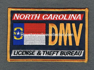 NC DMV LICENSE AND THEFT BUREAU