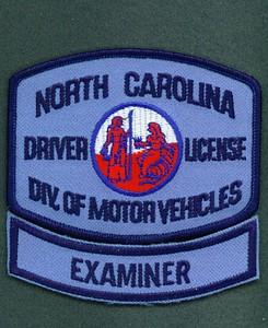 NC DIV MOTOR VEH EXAMINER