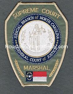 NC SUPREME COURT MARSHAL