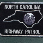NORTH CAROLINA HIGHWAY PATROL SUBDUED BLACK 56