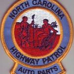 WISH,NC,NORTH CAROLINA HIGHWAY PATROL AUTO PARTS 1