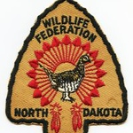 North Dakota Wanted Patches