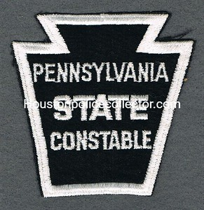 PA STATE CONSTABLE USED