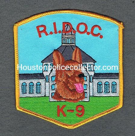 RHODE ISLAND DOC 30 K9