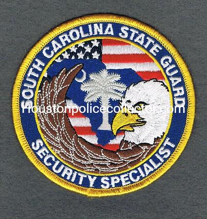 SOUTH CAROLINA STATE GUARD SECURITY SPECIALIST