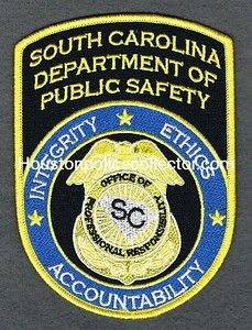 SC DPS OFFICE OF PROFESSIONAL RESPONSIBILITY