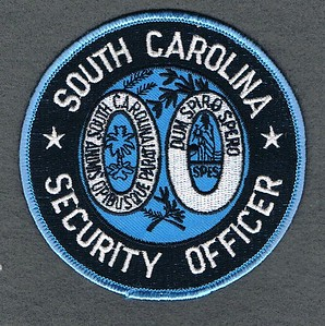 sc security officer blue used