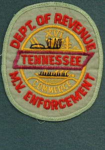 DEPT OF REVENUE MV ENFORCEMENT TAN