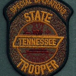 TENNESSEE STATE TROOPER SPECIAL OPERATIONS BROWN 56