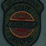 TENNESSEE STATE TROOPER SPECIAL OPERATIONS GREEN 56