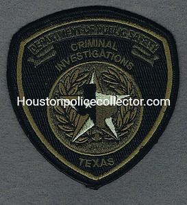 CRIMINAL INVESTIGATIONS PLASTIC