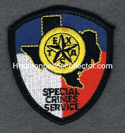 SPECIAL CRIMES SERVICE HAT PATCH