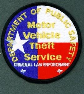 MOTOR VEHICLE THEFT SERVICE