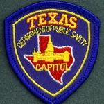 CAPITOL POLICE 26 HAT PATCH