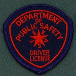DRIVER LICENSE 16 HAT PATCH