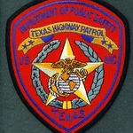 TX DPS Highway Patrol Novelty
