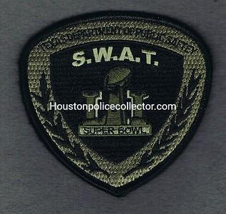 RANGERS SWAT 20 SUPERBOWL 51 VELCRO