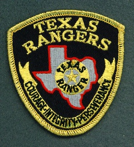 RANGERS 80 HAT PATCH