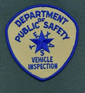 TX DPS Vehicle Inspection