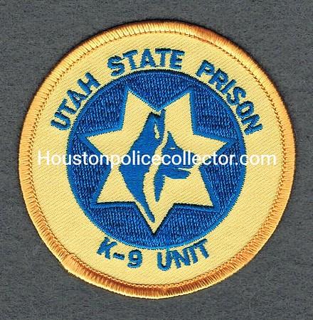 UTAH STATE PRISON K9