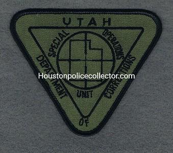 UTAH DOC SPECIAL OPERATIONS UNIT GREEN