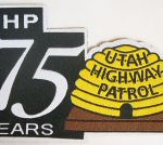 WISH,UT,UTAH HIGHWAY PATROL 75TH ANNIVERSARY 1