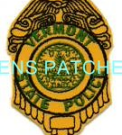 VT,VERMONT STATE POLICE BADGE PATCH 1_wm