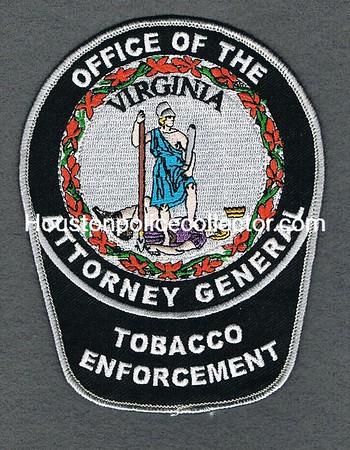 VIRGINIA ATTORNEY GENERAL TOBACCO ENFORCEMENT
