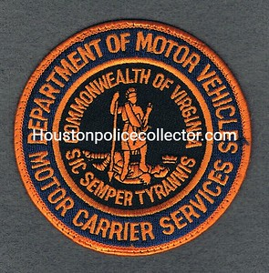 VIRGINIA DEPT OFMOTOR VEHICLES