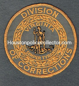VIRGINIA DIVISION OF CORRECTIONS