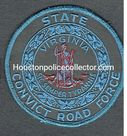 VIRGINIA STATE CONVICT ROAD FORCE