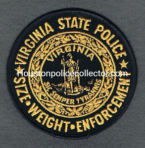 VIRGINIA SP SIZE WEIGHT ENFORCEMENT