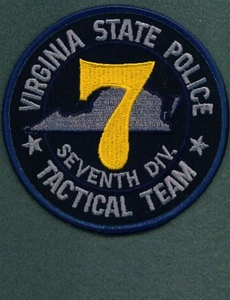 VSP 7TH TACTICAL TEAM SUBDUED