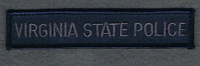 VIRGINIA STATE POLICE TAB