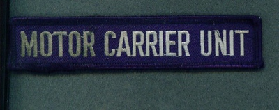 MOTOR CARRIER UNIT TAB