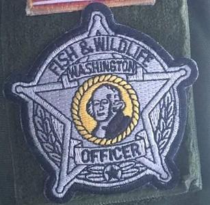 Washington Wanted Patches