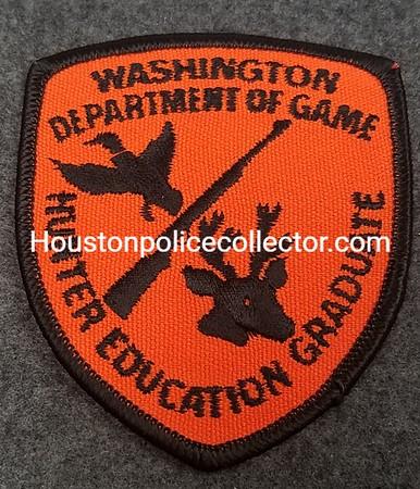 WASHINGTON DEPT of GAME 100 HUNTER ED