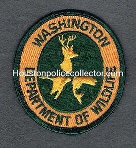 WASHINGTON DEPARTMENT OF WILDLIFE