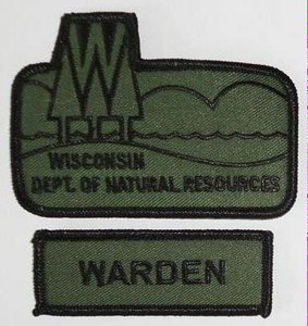 Wisconsin Wanted Patches
