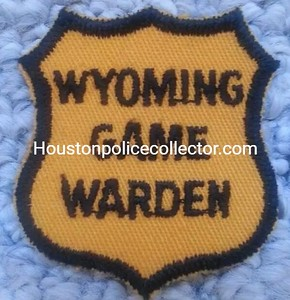 Wyoming Wanted Patches