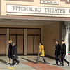 Mayor Stephen DiNatale walks with House Rep Lori Trahan in front of the Theater Block<br /> SENTINEL&ENTERPRISE/Scott LaPrade