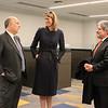 Mayor Stephen DiNatale  House Rep Lori Trahan and FSU President Richard Lapidus<br /> SENTINEL&ENTERPRISE/Scott LaPrade