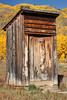 Outhouse @ Ashcroft's Historic Ghost Town, Castle Creek Valley, Colorado