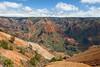 Waimea Canyon, also known as the Grand Canyon of the Pacific, Kauai, Hawaii