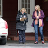 Candidate Sue Chalifoux Zephir, on left, and volunteer Andrea Freeman go door to door on Swan Street in Fitchburg on Tuesday December 5, 2017 during the Worcester Middlesex District State Senate race. SENTINEL & ENTERPRISE/JOHN LOVE