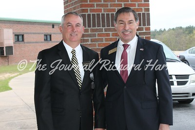 Chattahoochee Co. Superintendent David McCurry and State School Board Member Mike Cheokas