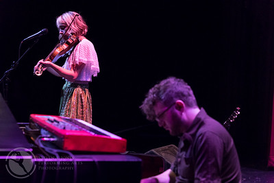 Feufollet: Kelli Jones-Savoy on fiddle and Andrew Toups on keyboards