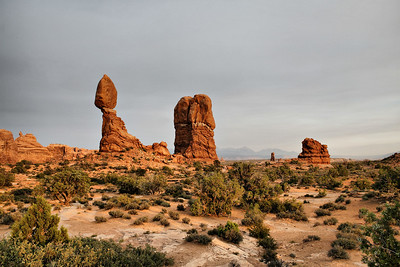 Balanced Rock, Arches NP, Moab, Utah